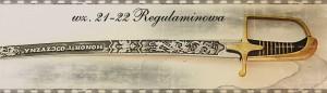 Szabla ułańska wz. 21-22 regulaminowa