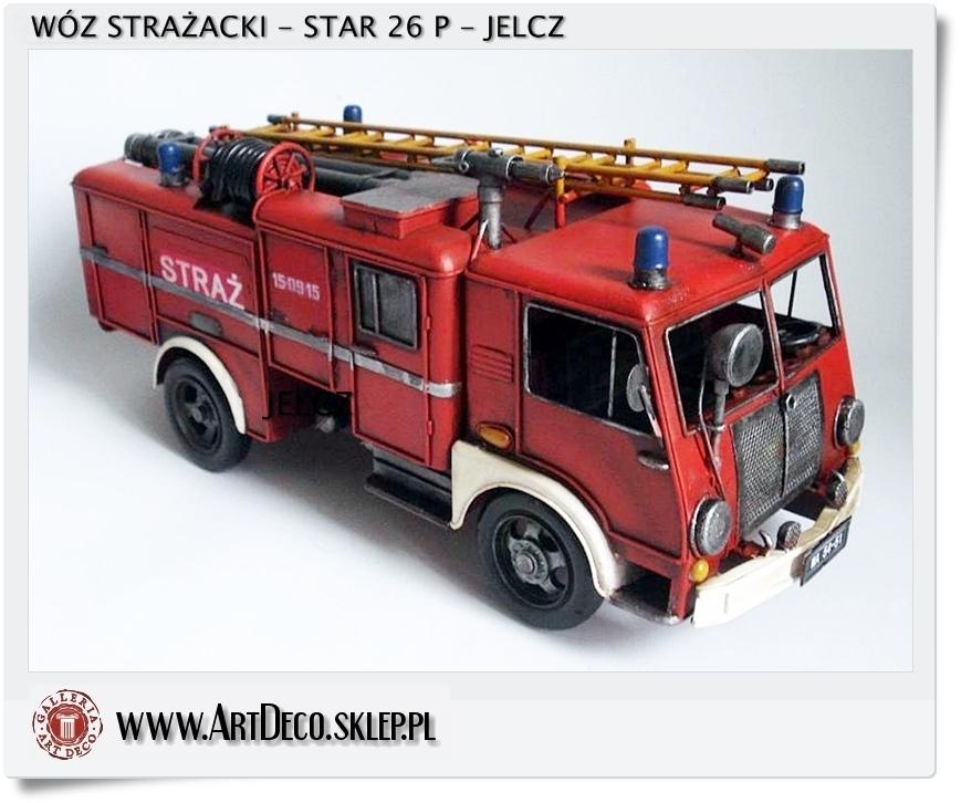 Straż pożarna star 26 P jelcz