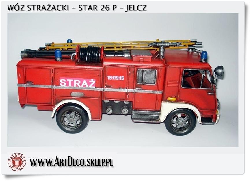 Polska straż pożarna - STAR 26 - P