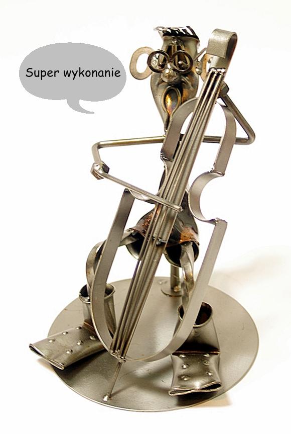 muzyk wiolączelista