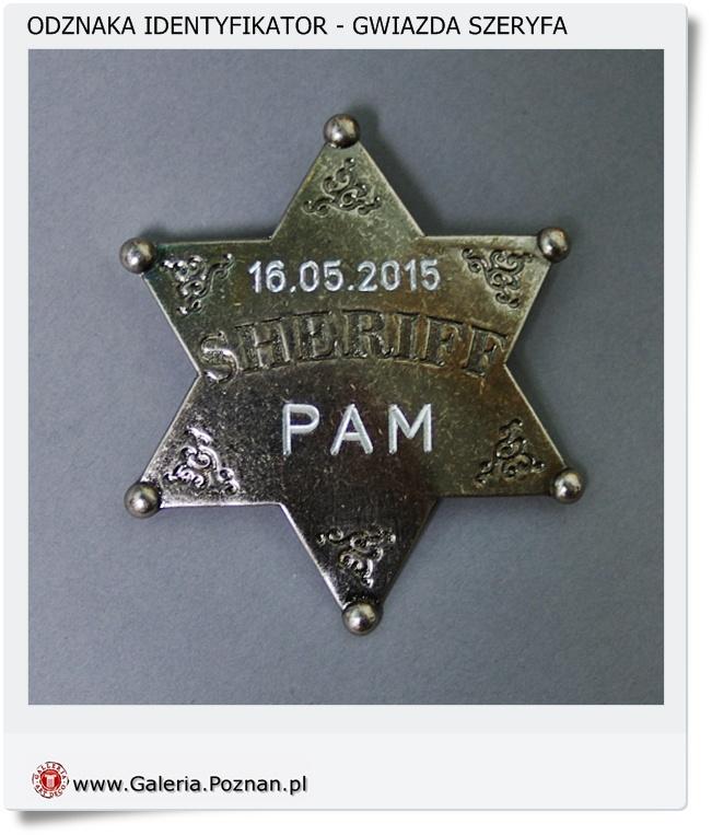 Imienna odznaka identyfikator