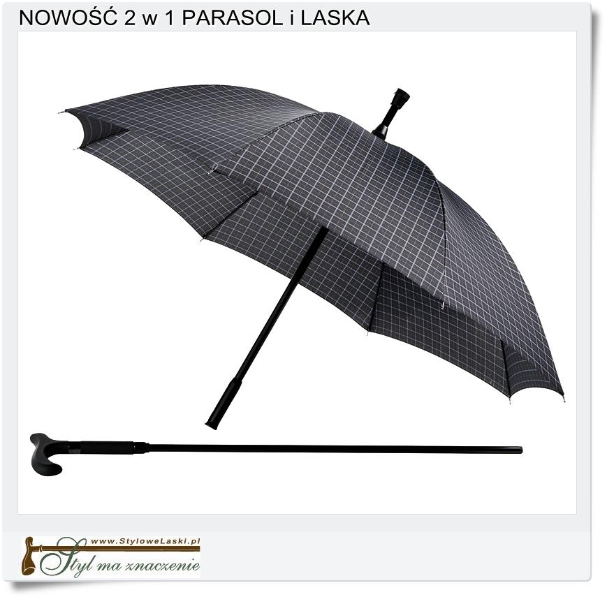Parasololaska 2 w 1 parasol i laska