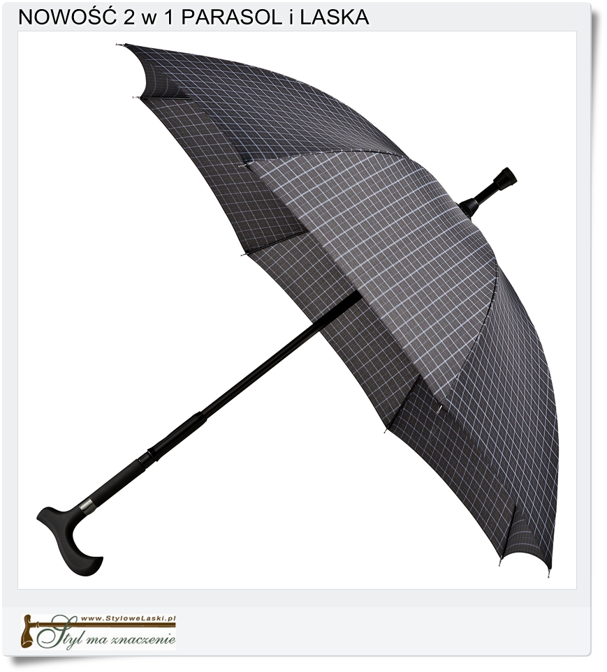 składana parasolko laska