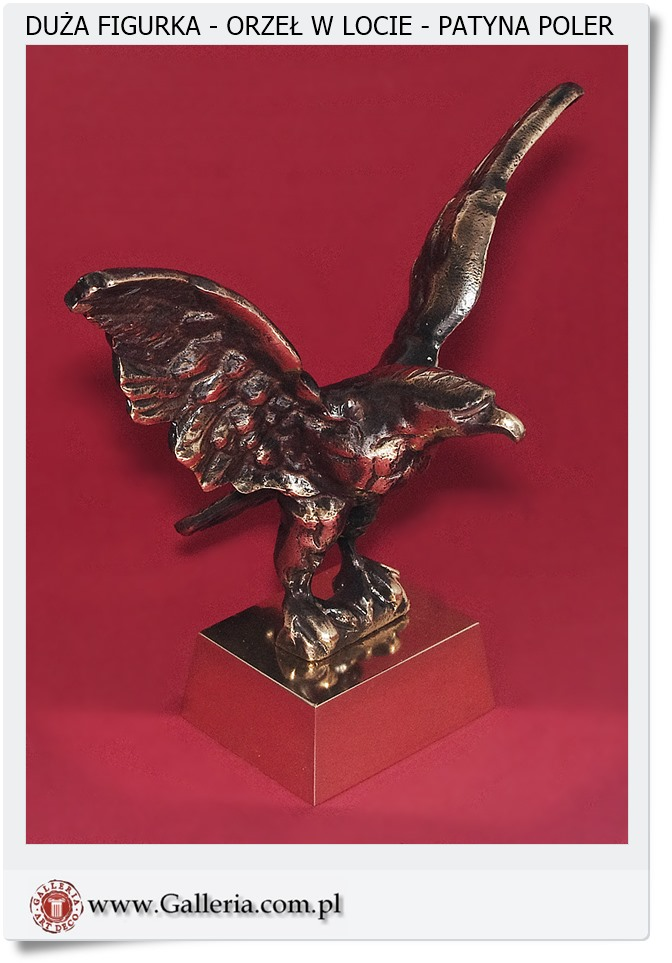 Figurka orła polski producent wyrobów mosiężnych