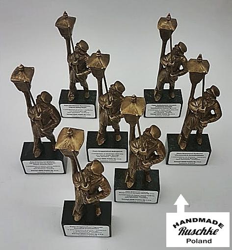 Figurki rękodzieła na prezent jubileuszowy Handmade Ruschke
